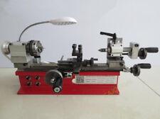 CE DIY Mini Desktop Lathe Instrument Home Laboratory Lathe 4 Jaw Chuck 65mm