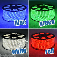 LED Strip 220V 240V IP67 Waterproof 3528 SMD Rope Garden Decking Kitchen Lights