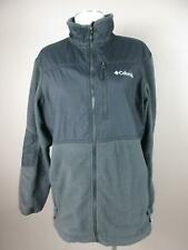 Columbia Size L Gray Mens Full Zip Insulated Outerwear Jacket 626