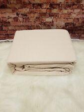 Ralph Lauren Silver Comfort King Blanket Ringspun Cotton Blush Powder