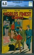 World's Finest Comics 35 CGC 6.5 - OW/W Pages