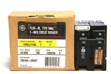 General Electric Ge Tmql21100 Circuit Breaker 100a 120240v 2p Tmql New In Box
