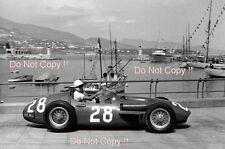 Stirling Moss Maserati 250F Winner Monaco Grand Prix 1956 Photograph