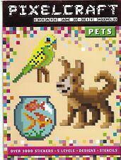 Pixel craft pet shop sticker embryotoxique book (livre de poche, 2015) nouveau