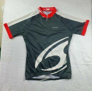Scody Cycling Shirt -1/2 Zip - Medium - Black