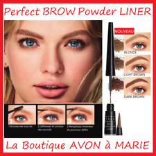 Perfect Brow Liner Powder for Eyebrows Avon True : Long Holding, Finish Dusky
