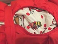 "Pottery Barn PB Teen The Grinch Red Sleeping Bag 75"" Dr Seuss"