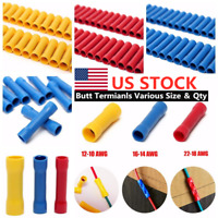 100Pcs Assorted Insulated Electrical Wire Cable Terminal Crimp Connector Set New