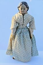 New ListingAntique Early Griener Composition Head Doll Cloth Body Antique Dress and Shoes