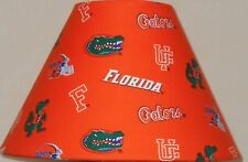 Florida Gators NCAA fabric lamp shade sports Handmade Desk Table NG Orange