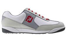 Footjoy Mens AWD XL Casual Golf Shoes - Grey / Red 57866 - 2016 Model