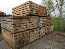 Eichenschwelle Eichenholz Bahnschwelle Holz Eiche ca.120 x 200 x 2600 mm