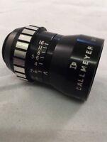 Vintage Dallmeyer Wide Angle Lens, F=6.5mm, f/2.5 D-Mount for cine camera (13)