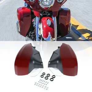 Hard Red Lower Fairings Assembly Fit For Indian Chief Vintage Classic 2014-2018