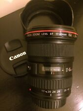 Canon EF 17-40mm F/4.0 L USM Lens