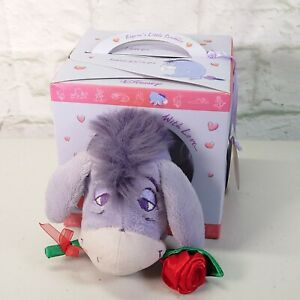 Disney Eeyore's Little Scribbles Love Special Friend Plush Soft Toy in Box