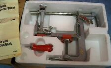 Vintage Pampered Chef Apple Peeler/Corer/Slicer Made in Taiwan Used Little #2430