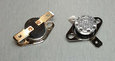 KSD301 160°C N.C. (Normally Closed) Thermostat Switch 10A 250V AC Pack of 2