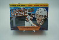 2020-21 Upper Deck SERIES 1 Hockey BLASTER BOX 7-Pack SEALED Lafreniere? FAST SH