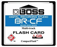 1GB CF Card Upgrade for BR 600 Boss Roland BR-CF 1GIG BR600 Compact Flash Memory