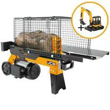 JCB Holzspalter Brennholzspalter liegend 4 Tonnen 230V bis 250mm Ø 370 mm