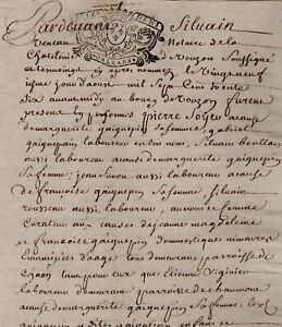 1736 Loir-et-Cher généalogie GAIGNEPAIN AVEZARD LECAS SOYER BROSSAMAIN SOUCHER