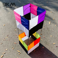 Single Line Kite 3D Box Outdoor Sport With Handle 85cm*30cm Beginners Kids Gift
