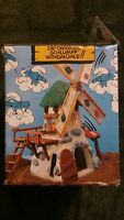 Smurf Windmill Vintage Toy 1980s - NOS with instructions. SCHLEICH (German)