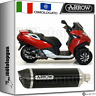 ARROW SCARICO HOM RACE-TECH ALLUMINIO DARK CARBY PEUGEOT METROPOLIS 400 2014 14