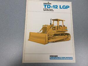 Dresser TD-12 LGP Crawler Dozer Brochure 4 pages
