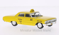 #175 - Whitebox Ford Galaxie 500-New York Taxi - 1967 - 1:43
