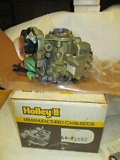 Holley Reman 64-1582 Carburetor Carter/MCraft 1-Bbl Ford/Merc 4 Cyl. Car 1983