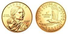 2007 P&D Sacagawea Native American Indian Dollars UNC Coins U.S. Mint Money