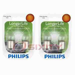 2 pc Philips License Plate Light Bulbs for Ford Club Consul Country Sedan ur