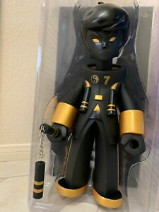 BRUCE LEE FIGURE  Compound   KANO  20 Inch Dragon King  Black & Gold