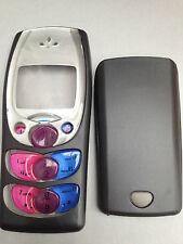 Remplacement téléphone mobile fascia/logement/housse & clavier pour NOKIA 2300-noir