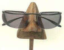 Vintage Nike Eg0039 001 Hyperion S.R. Ii Gray Rimless Rectangle Sunglasses Italy