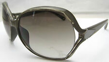 Vintage BANANA REPUBLIC Sunglasses Gray Plastic & Silver Tone Frame Smoke Lenses