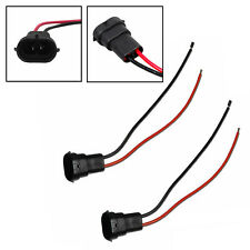 H11 H8 H9 Male Adapters Wiring Harness Sockets Wire Fog Light Headlight Headlamp