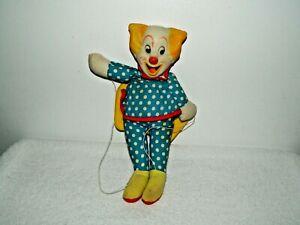 Vintage 1972 Knickerbocker Larry Harmon's Bozo the Clown Marionette