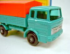 Matchbox RW 01E Mercedes Truck kleine Trittstufe am Fahrerhaus in Box