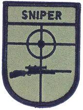 sniper airsoft   PATCH bordado termoadhesivo parche