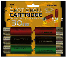 UTG AIRSOFT M3 MULTI-SHOT SPARE SHOTGUN SHELLS 6-PACK EXTRA MAGAZINE CLIP GUN