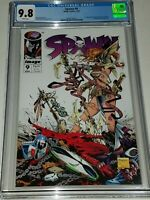 Spawn #9 CGC 9.8 NM/MT Image 1993 White Pages 1st Appearance of Angela