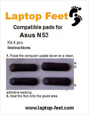 Laptop Feet for Asus N53xx/N43xx/N73x compatible kit (4 pcs self adhesive by 3M)