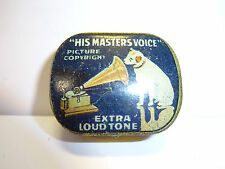 "Grammophon Dose ""HIS MASTERS VOICE"" leer Gramophone"