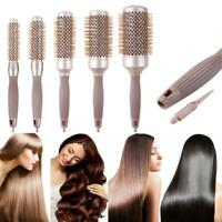 1/5pcs Round Barrel Comb High Temperature Resistant Styling Drying Curling Brush