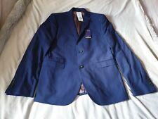 Mens Next Tailoring blue slim fit suit jacket size UK 42xl bnwt rrp £64