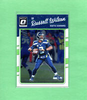 2016 Donruss Optic Russell Wilson 1st Year of Optic Football card #89 Seahawks