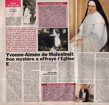 Coupure de presse Clipping 1993 Yvonne Aimée de Malestroit Y Beauvais 1 page1/2